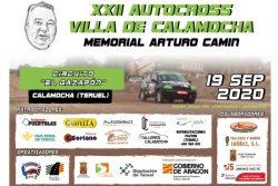 autocross calamocha 2020 cartel