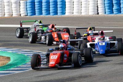 El Campeonato de España de F4 alcanzó su ecuador en Jerez