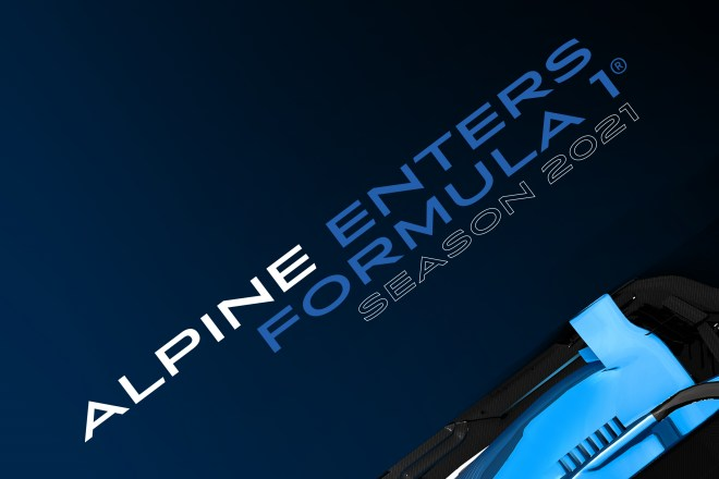 logo alpine f1