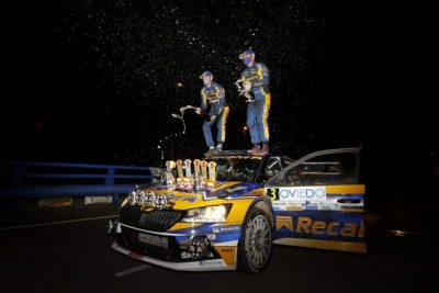Suárez-Iglesias dominadores de principio a fin en el Rallye