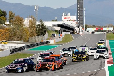 Fin de fiesta del Racing Weekend en Cataluña