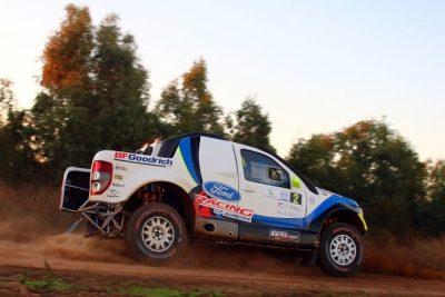 Pita-Herrero con Ford Ranger los mejores españoles y nuevos Campeones en el Rallye Dehesa de Extremadura
