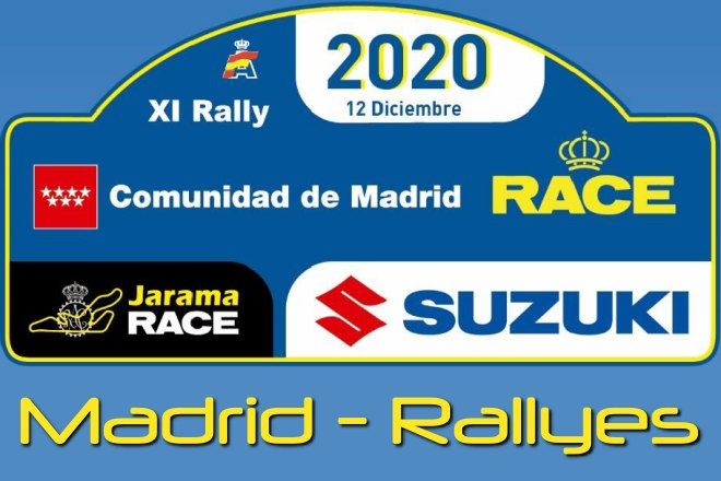 rallye cera madrid 2020 placa