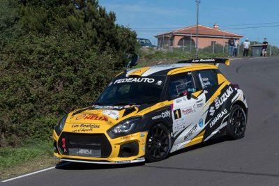 Manuel Mesa y Ariday Bonilla se imponen en el III Rallysprint La Gomera