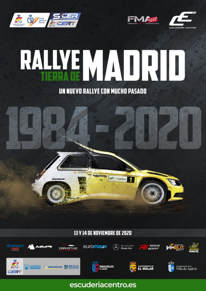 rallye tierra madrid cartel 2020