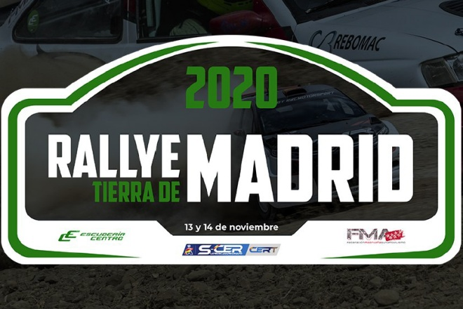 rallye tierra madrid placa 2020