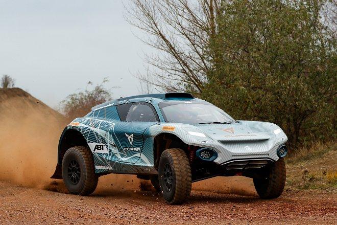 Motorsports: Extreme-E Abt-Cupra Test