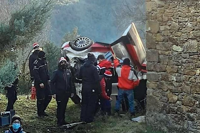 ogier test accidente pre montecarlo toyota yaris wrc