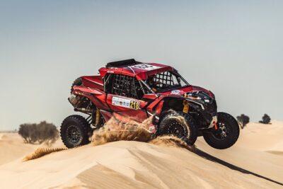 Laia Sanz a las puertas del podio en la Baja Dubái en su debut