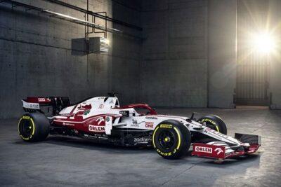 Alfa Romeo Racing ORLEN revela el nuevo C41