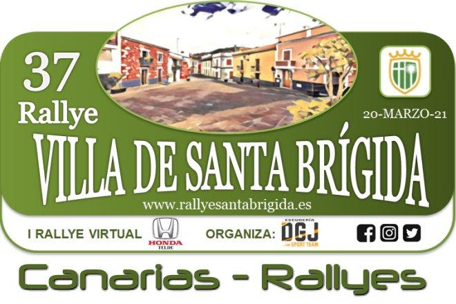 rallye Santa Brígida 2021 placa