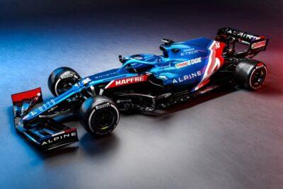 Alpine F1 se presenta en su primera temporada