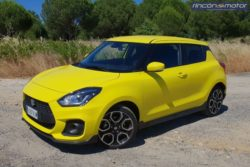 Suzuki Swift Sport, cambio radical